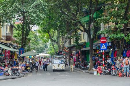 Hanoi Old Quarter, capital of Vietnam.