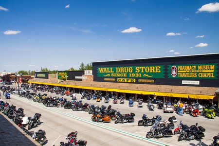 After originating as a small pharmacy, Wall Drug has grown into one of South Dakota's quirkiest tourist attractions