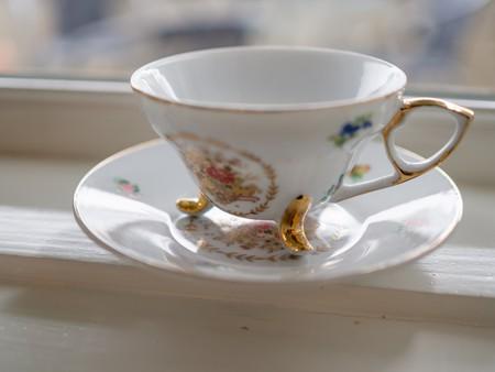 Delicate teacup at Kaffi Illmur