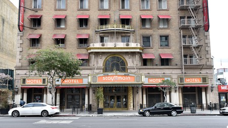Historic Hotel Cecil in LA now known as Stay on Main