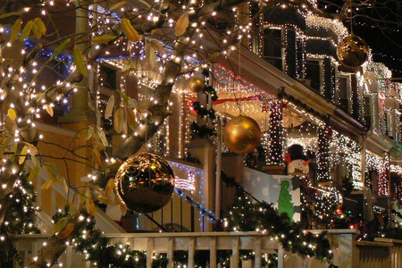 Baltimore's Miracle on 34th Street is the city's best spot to see holiday lights.