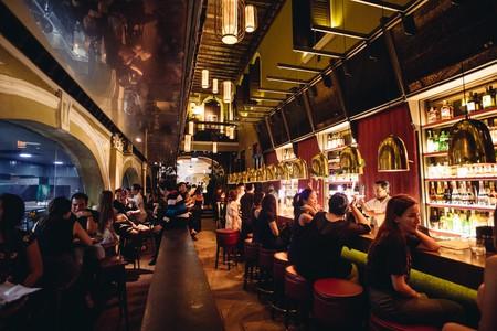 Though elegantly designed, Alley Bar still feels rather cosy