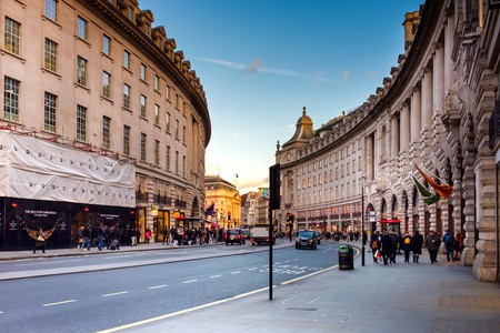John Nash, the architect behind Regent Street, was also responsible for designing Buckingham Palace