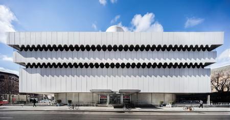 Mack Pavilion, Lenox Hill Hospital, Greenwich Village. Architect: Albert Ledner