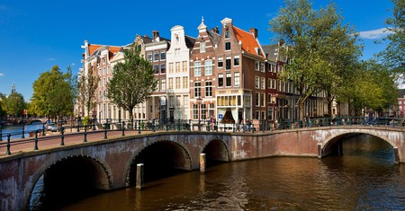The Keizersgracht is the widest canal in Amsterdam