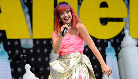 Lily Allen sung about the capital in her hit song 'LDN'  - E3Y8NR