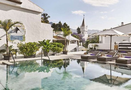 The Hotel Nobu Marbella is a stylish luxury hotel