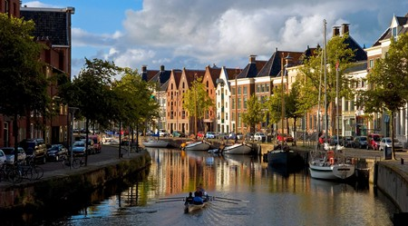 Groningen is known for its architecture, canals and students