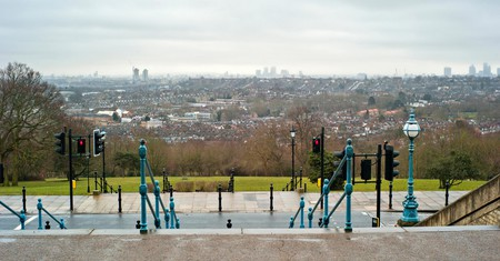 View from Alexandra Palace, North London