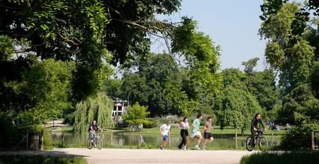 Lake of the Bois de Vincennes