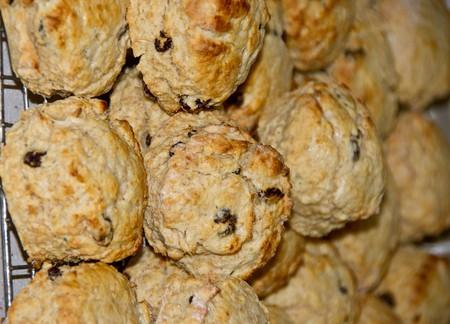 Freshly baked scones