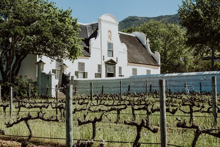 Groot Constantia wine farm in Cape Town, South Africa is a perfect example of Cape Dutch Architecture