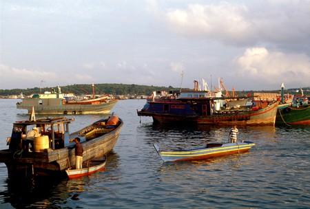 Tanjung Pinang harbour, Indonesia, Bintan