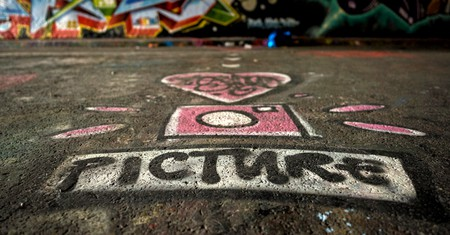 Leake Street Tunnel is home to some of London's most distinctive graffiti
