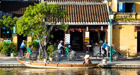 Hoi An is located on Vietnam's central coast
