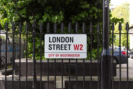 Street nameplates in London reveal the city's history