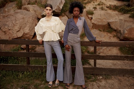 Models wearing pieces from VUNA's SS '18 collection