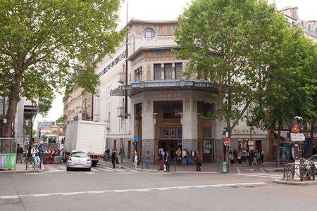 Architect Henri Zipcy designed the Le Louxor cinema