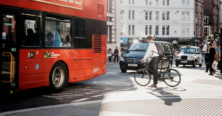 There are many travel options in London, including cycling