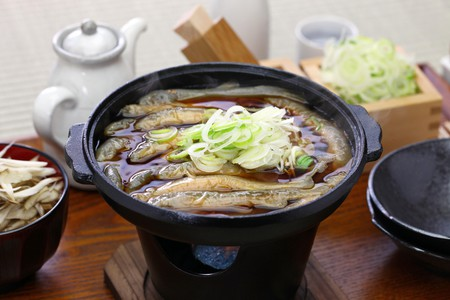 Order the dojō nabe at Komakata Dozeu