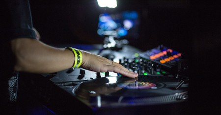 DJ Kentaro, Anchorsong, DJ Cheeba, DJ Woody and DJ Irk performing at XOYO | Photo by Tim Fergson/REX/Shutterstock