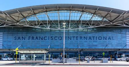 Outside the San Francisco International Airport