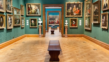 Entry to the National Portrait Gallery is free