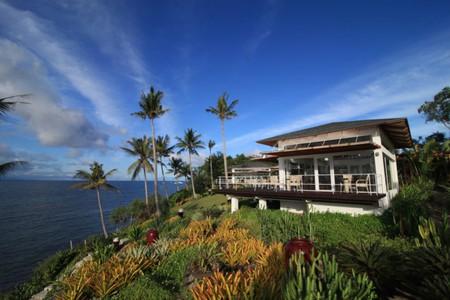 Enjoy the fabulous views while dining at Tarsier Paprika.