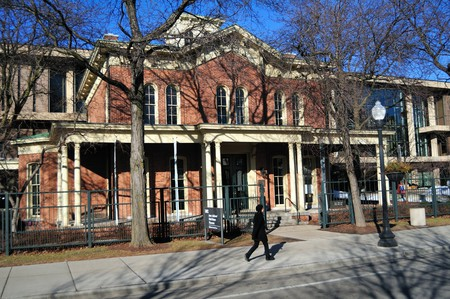Hull-House from 1856, is a settlement house that was co-founded in 1889 by Jane Addams and Ellen Gates Starr in Chicago, Illinois, USA