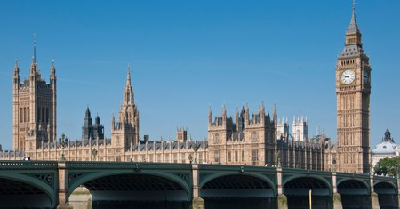 The Palace of Westminster was built in 1016 and rebuilt in 1870