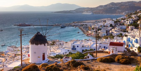 Hedonistic Mykonos is one of the most popular Greek islands