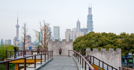 The Bund is a magnet that pulls crowds to its promenade