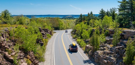 Maine's Acadia National Park is a perfect road-trip destination