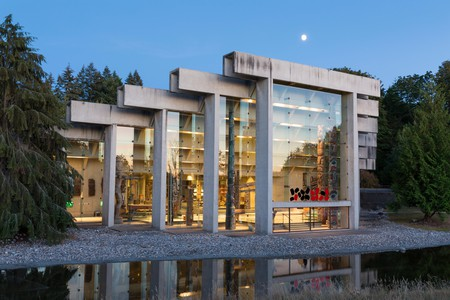 The Museum of Anthropology at the University of British Columbia