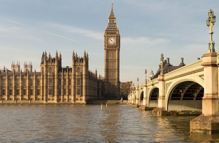 Westminster is home to the Houses of Parliament and Big Ben