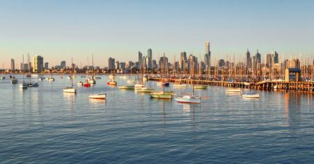 The sparkling Melbourne skyline