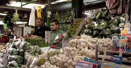 Vegan shoppers are spoiled for choice at Carmel Market in Tel Aviv