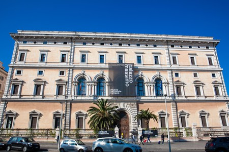 ROME, ITALY - APRIL, 2018: National Roman Museum at the Palazzo Massimo