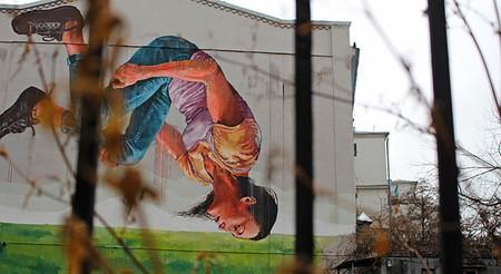 Mural in Kiev | ©travelmag.com/Flickr