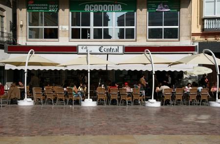 Cafe Central, Plaza de la Constitucion, Malaga.