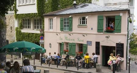 La Maison Rose is in Montmartre