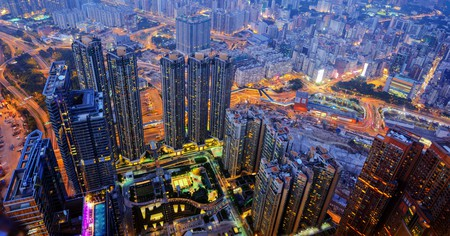 Have a drink in the Kowloon district of Hong Kong
