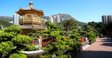 Golden Pagoda in Nan Lian Garden, Kowloon