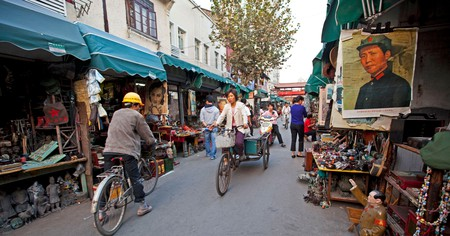 Shanghai's home to many antique and vintage finds