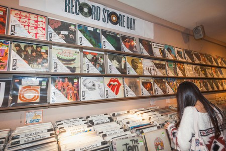 Berwick Street has London's largest concentration of independent record shops