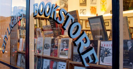 City Lights Bookstore in North Beach, San Francisco, California