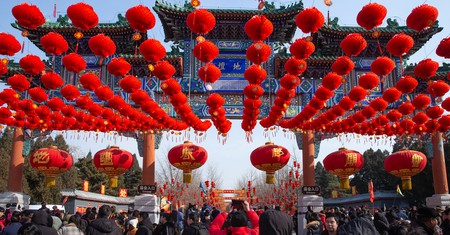 Chinese New Year celebrations last for two weeks