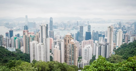 Visit Victoria Peak for incredible panoramas of Hong Kong