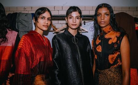 Sri Lankan designer Amesh Wijesekera presents his namesake label at Mercedes-Benz Fashion Week in Berlin Autumn/Winter 2019