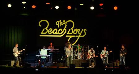 The Beach Boys perform in Hollywood